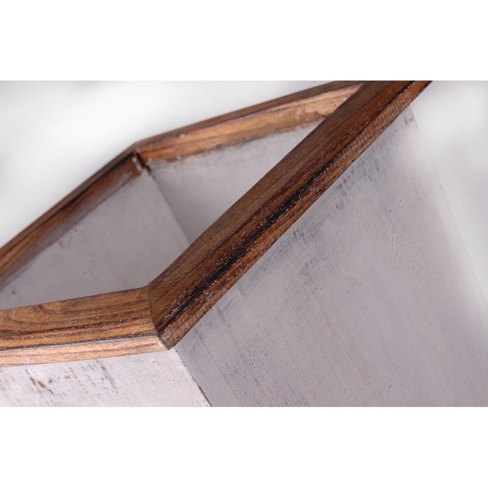 Cabecero de madera tres colores
