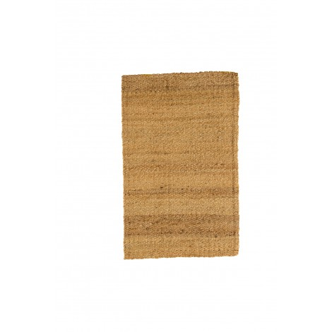 Silla rústica con asiento de madera de pino color encerado