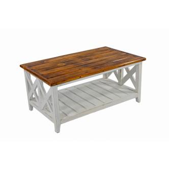Aparador de dos puertas de madera de mahogany color teka