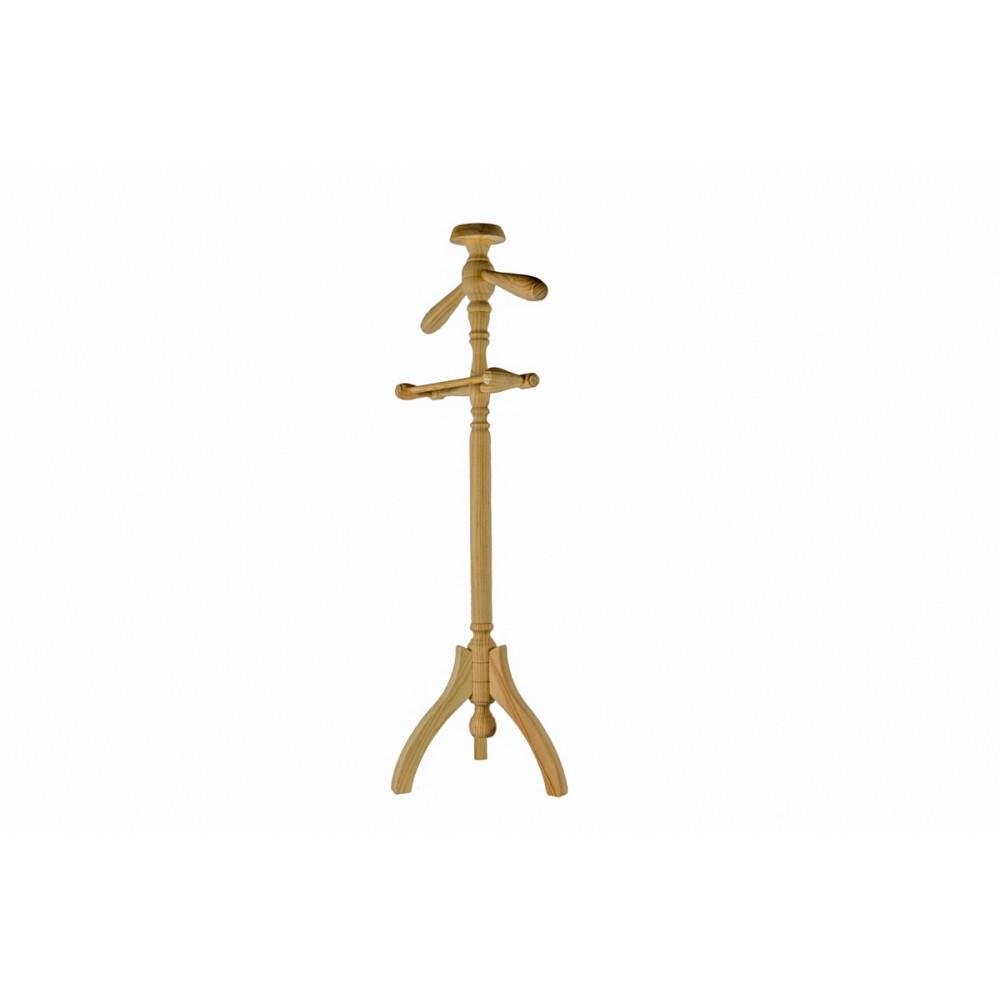 Banco modelo batavia con respaldo tallado y patas torneadas madera de Mahogany