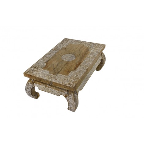 Aparador bajo para TV de madera de Mahogany