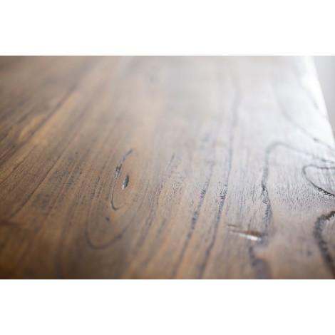 Escritorio de madera de Mahogany estilo colonial color teka