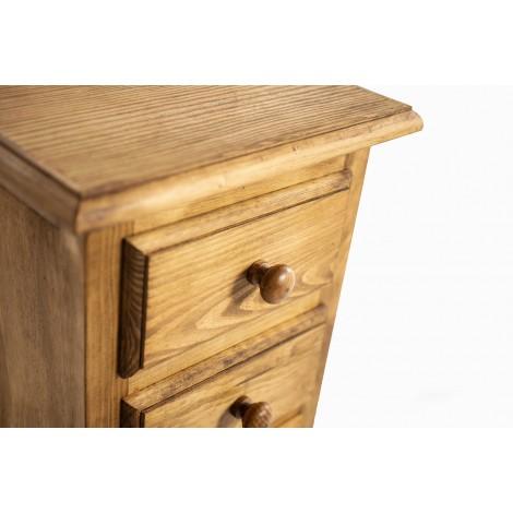Conjunto de mesa y cuatro taburetes de forja marrón óxido
