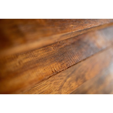 Mueble auxiliar KAB madera recclada color teka