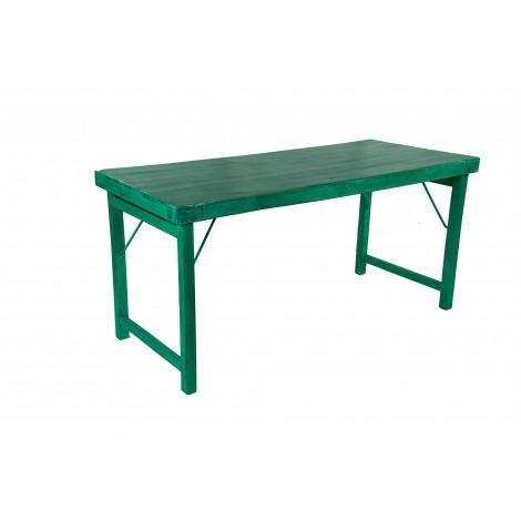Mecedora de madera color natural barnizado con asiento de rejilla