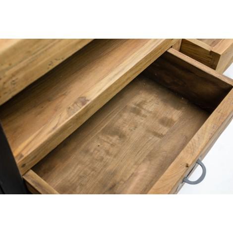 Muebles para el dormitorio camas mesitas de noche - Cestos de madera ...