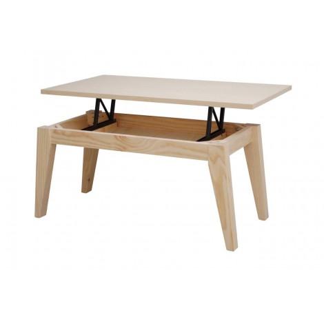 Muebles de sal n mesas sofas estanter as sillas - Muebles madera natural sin tratar ...
