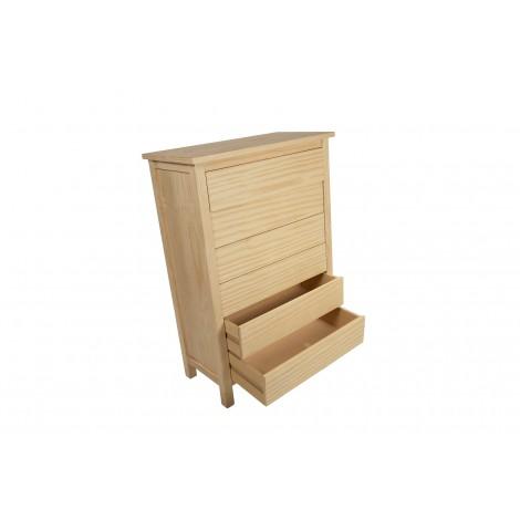 Banco de madera tropical color teka con respaldo tallado estilo colonial