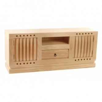 Aparador TV de madera de...