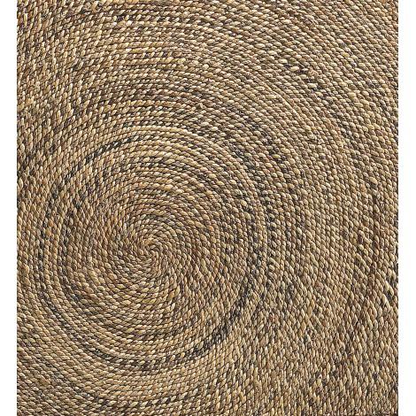 Sólido y duradero taburete rustico de pino con asiento de enea