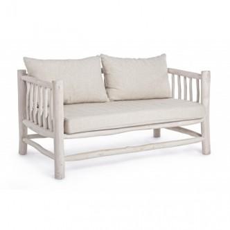 Sofa Bizz de madera con...