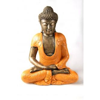 Budha policromado de...