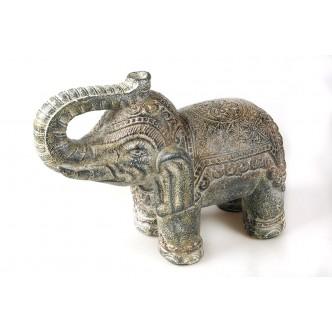 Elefante policromado efecto...