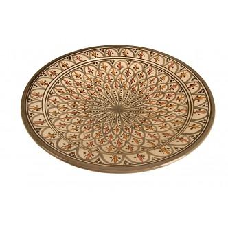 Plato de cerámica artesanal...