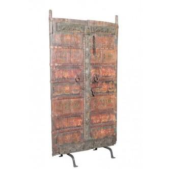 Puerta biombo antigua teca...