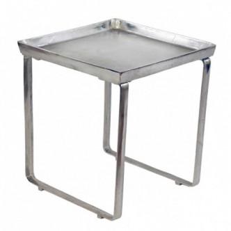 Mesa bizz auxiliar de metal