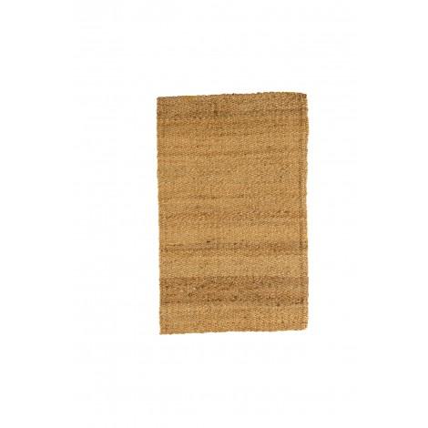 Mesita de noche de madera de pino con pata de cebolla color encerado