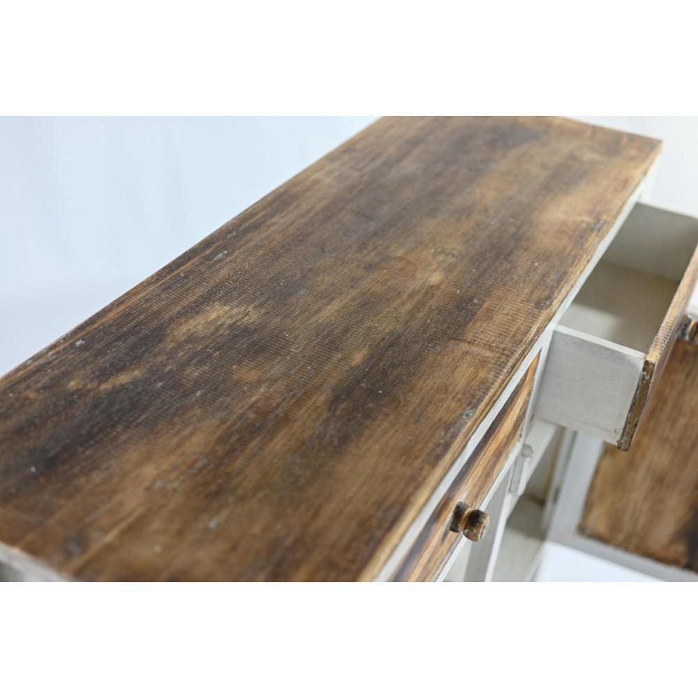 Aparador tres puertas y dos cajones de madera de Mahogany