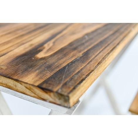 Aparador de tres puertas y tres cajones de madera de Mahogany
