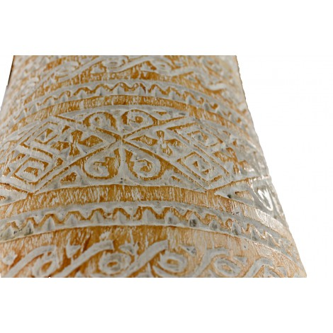 Consola con pata isabelina de madera de Mahogany