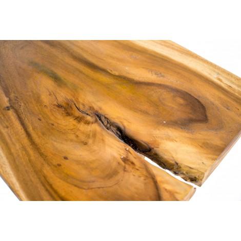 Vitrina pablito de una puerta en madera de pino encerada estilo rústico