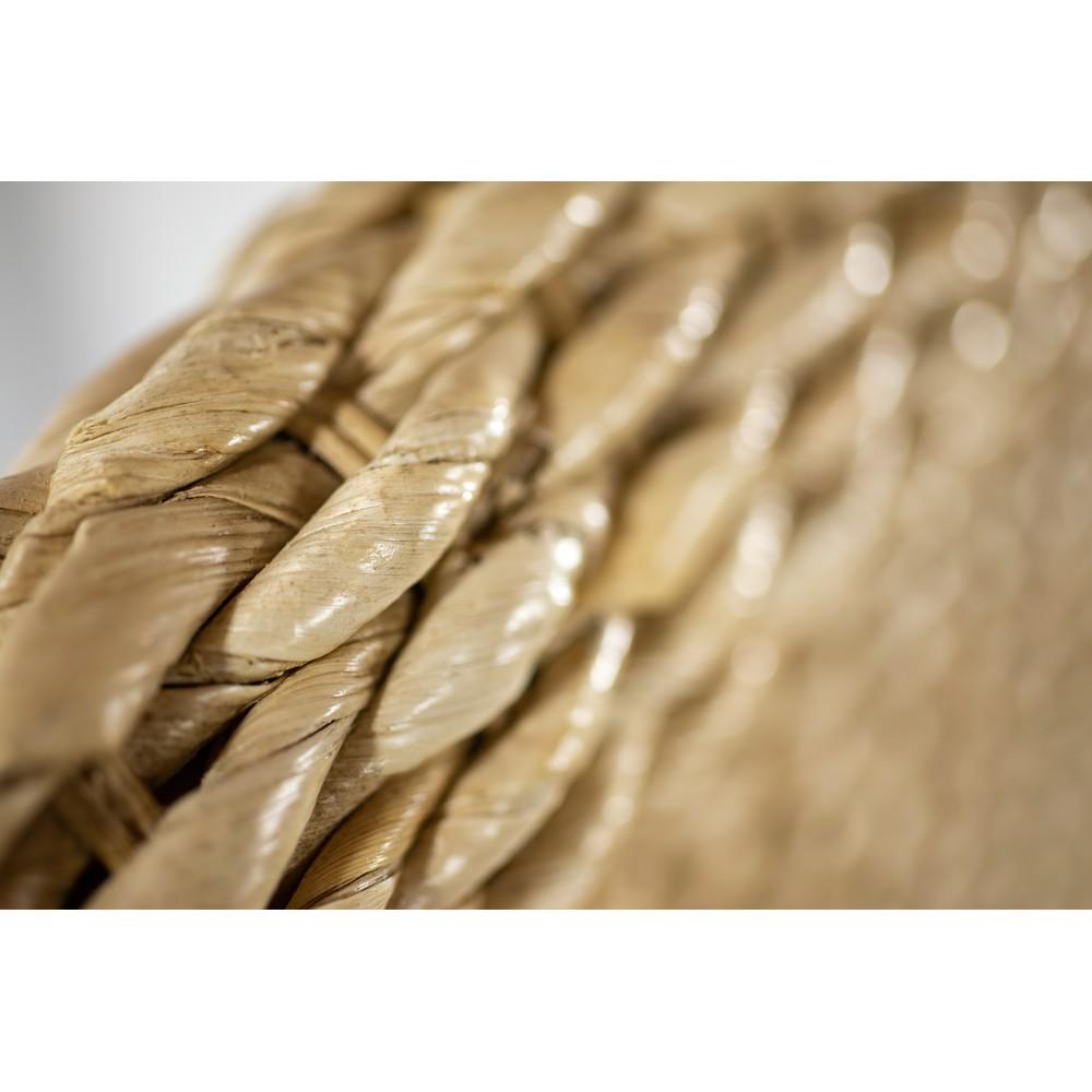 Cabecero rúsito de madera de pino encerado
