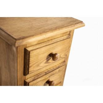 Mesa de centro rústica de madera de pino encerado con tapa elevablePlazo de entrega 15 dias