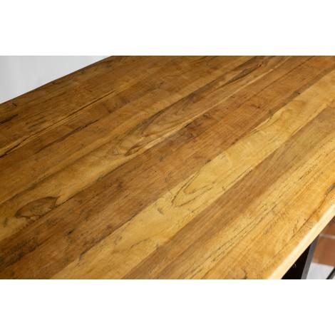 Mesa de comedor extensible con patas rectas