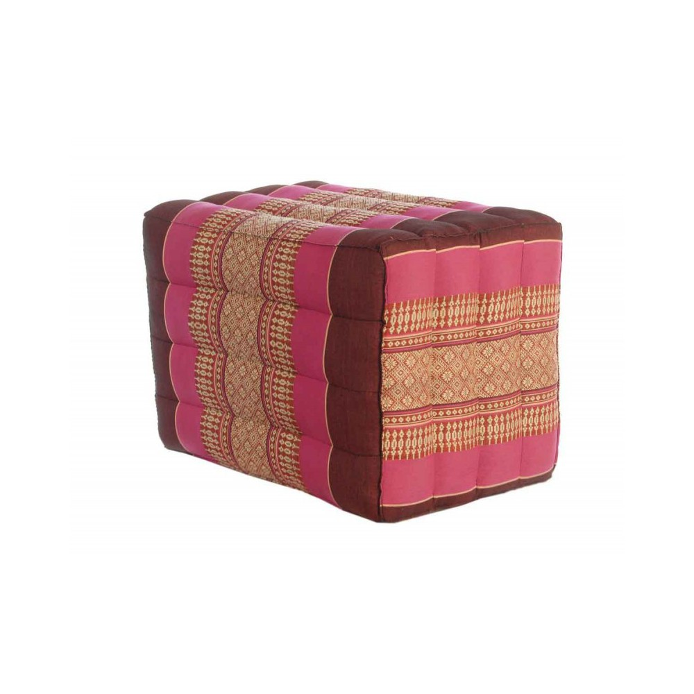 Moai Muebles y Decoración ·  Pouf thai estampado étnico color