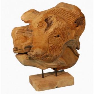 Moai Muebles y Decoración ·  Figura de decoración de madera