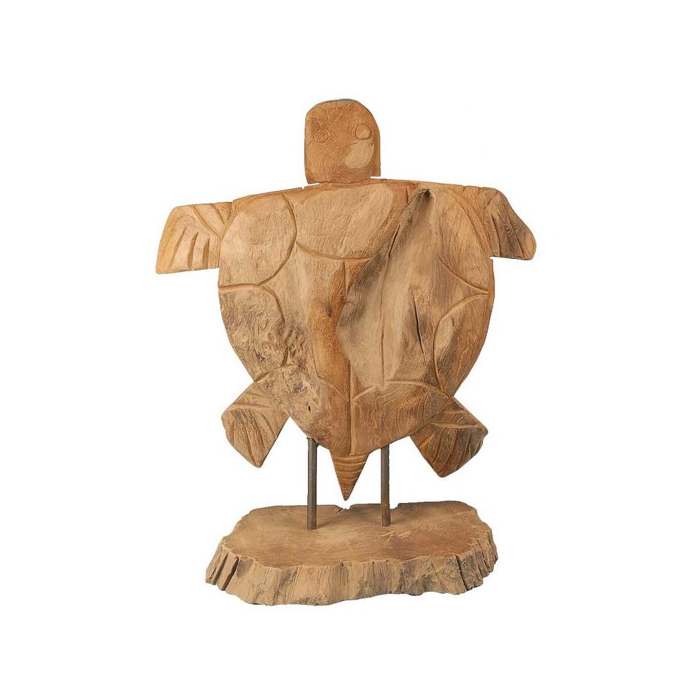 Moai Muebles y Decoración ·  Figura de madera con forma de