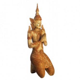 Budha madera tallada peso...