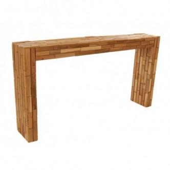 Consola de madera de teka...
