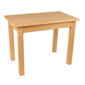 Mesa comedor de pino natural