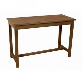 Mesa auxiliar alta de madera