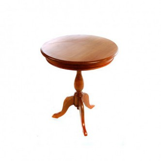 Mesa velador de madera...