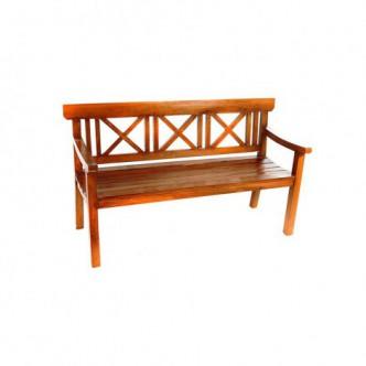 Banco de madera mahogany 3...