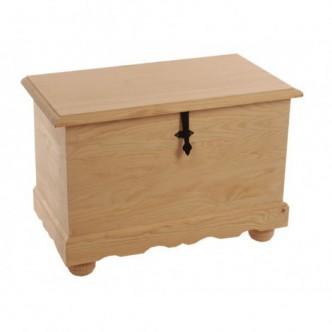 Baúl arcón de madera de...