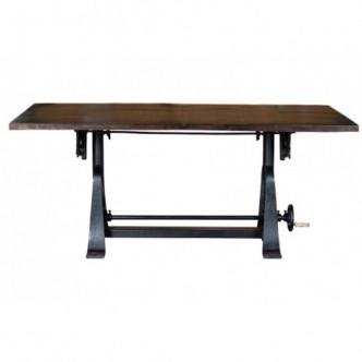 Mesa de comedor elevable de...