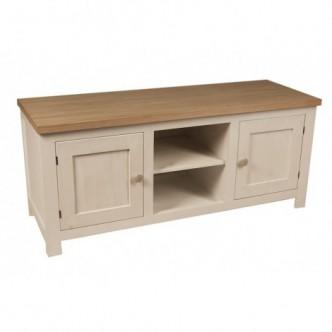 Mueble TV de pino de 2...