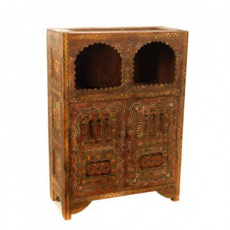 Mueble de madera maciza...