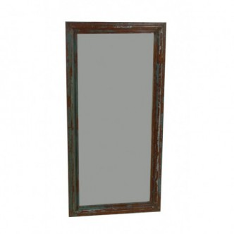 Marco espejo antiguo de la...