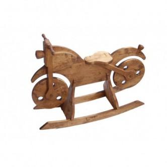 Moto balancín de madera de...