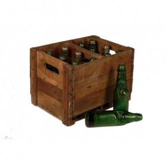 Botellero de madera con 12...